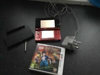 Nintendo 3ds. Excellent condition. Back to factory settings. Excellent condition. Game included