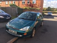 2001 y reg ford focus 1.8 16v zetec mot may 2017 drive away a lovely family car