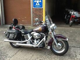 Harley Davidson Heritage Softail Classic, 2700 miles