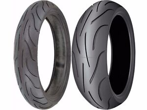 Michelin Pilot Power 190/50-17 120/70-17 Sport Motorcycle Tires ZR Radial