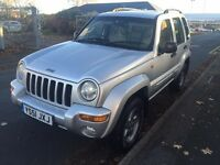 2002 Jeep Cherokee Limited 2.5 CRD 4x4 offroad