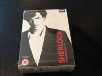 SHERLOCK COMPLETE SERIES 1 - 3 DVD