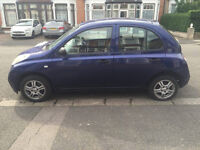 2004 NISSAN MICRA - FIRST TO SEE WILL BUY - 1 YEAR MOT - MINT CONDITION - NO PROBLEMS - ONLY £550!!