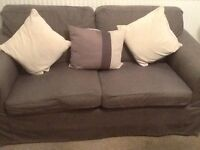 IKEA ektorp two seater sofa and two chairs