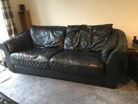 **FREE** 3 seater leather sofa. - *Must Go Today*