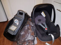 MAXI COSI Pebble and familyfix isofix base, CAN DELIVER