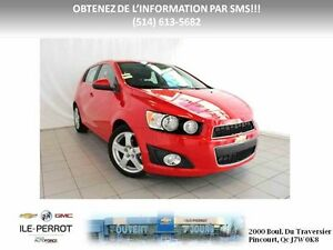2016 CHEVROLET SONIC 5 LT TOIT, CAMERA, TURBO, MAGS,