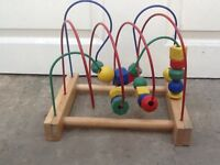 Childs counting block toy