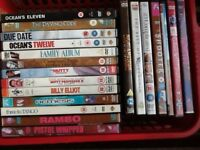 200 PLUS DVDS 50p EACH OR £60 THE LOT.