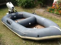 Avon Redstart Inflatable dinghy and 4HP Johnson outboard engine