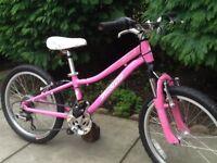 Specialized hotrock pink girls mountain bike