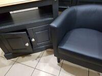 console table,desk,hall table, tv unit & arm chair ex con