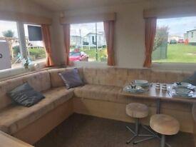 Value 2 Bed Static caravan on Barmston Beach near Bridlington