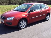 Ford Focus Sport 3dr (metallic inferno red) 2005