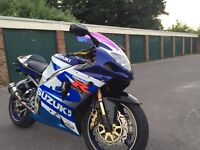 gsxr 1000 k1 32000 stubby exhaust upgraded brakes and levers