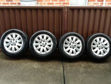 Rims mags alloys 225/55/16 Holden caprice statement. Trailer hsv