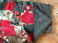 chritmas table cloth