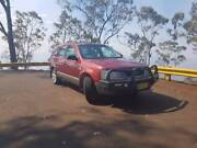 Red 2005 Ford Territory Wagon with a bullbar! Armidale Armidale City Preview