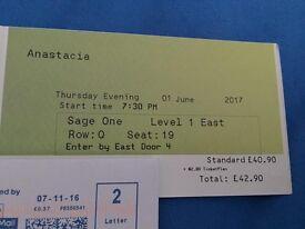 Anastacia ticket for sale