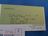 Anastacia ticket for sale