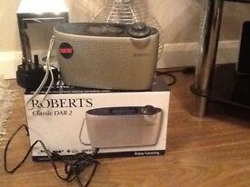 Roberts Classic DAB 2 Radio Boxed