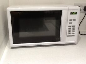 Microwave. Cookworks. 12 months old.digital display. Any offer accepted