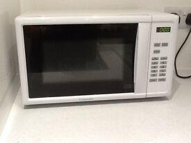 Microwave. Cookworks. 12 months old.digital display. £1