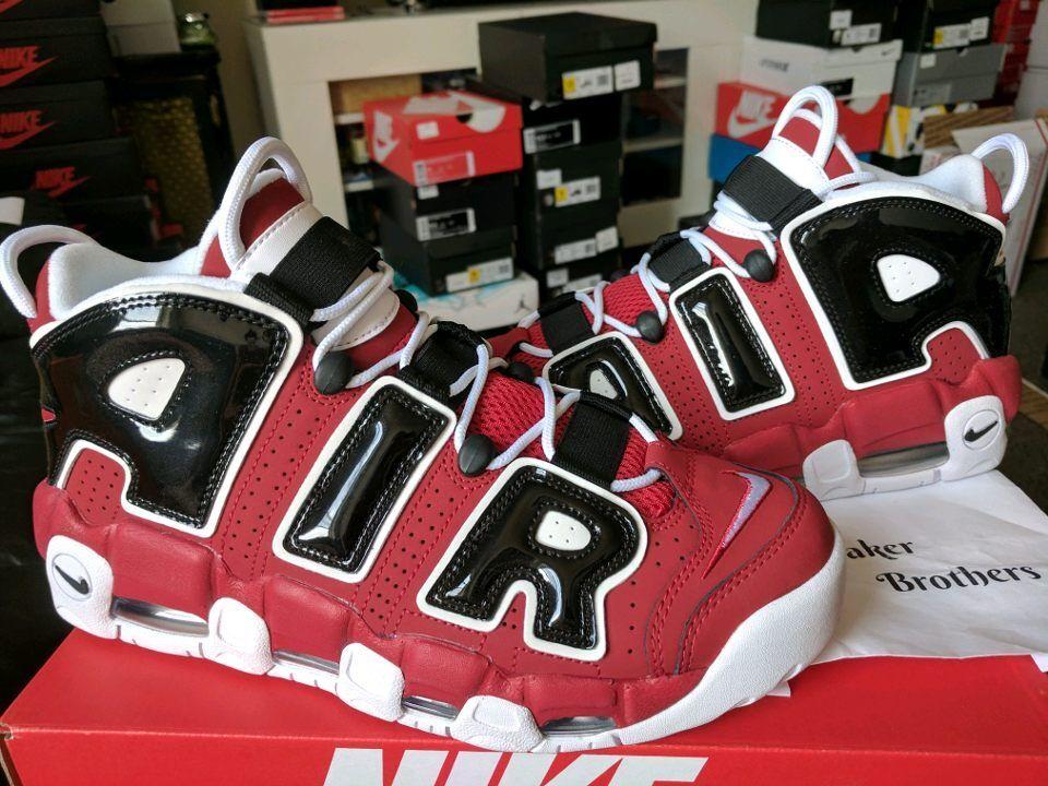 Nike Air More Uptempo 96 Asia Hoop Pack 2017 Bulls Red White Black 921948-600