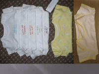Bundle of 7 Bodysuits for 18-24mths (2 yellow are for 2-3 years but the same fit). Boy/Girl. VGC.