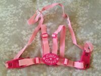Pink reins