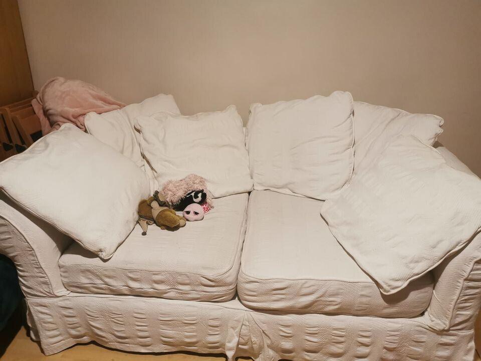 White Sofa | In Lambeth, London | Gumtree