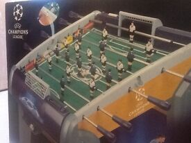 Brand NEW in unopened box UEFA Champions League football table. Made by SMOBY, suitable for ages 8+