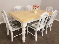 Beautifull shabby chic table and chairs