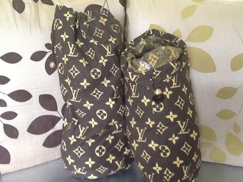 50c3ca9da0b8 Genuine 1980s vintage Louis Vuitton shoe bags