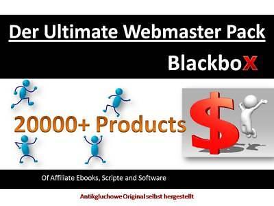 20,000+ Produkte/ Ebooks/ Software gesamt 500 GB Gross  PLR