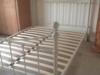 """Standard size double bed 70"""" x53"""" x14""""."""
