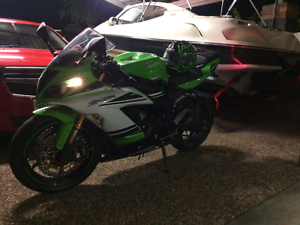Kawasaki Ninja 636 2015 (ABS)30th Anniversary Edition Mount Cotton Redland Area Preview