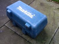 Makita 18 volt Angle Grinder storage box