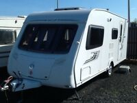 2008 swift challenger 530/4 berth end changing room with fitted mover & awning
