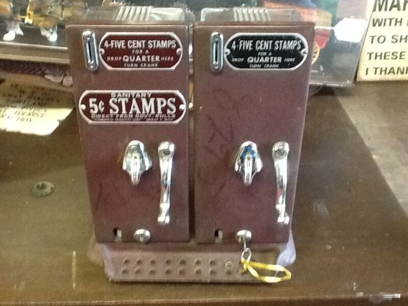 Antique Stamp Machine