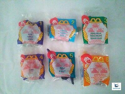 NEW: 1996 Disney SLEEPING BEAUTY McDonald's Happy Meal Complete UNOPENED Set