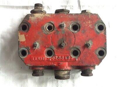 Fmc Bean Pump Chamber Head. Cast 5266483