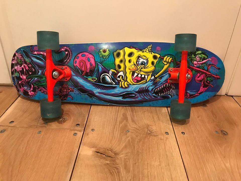 Mishka x spongebob lmour supreme crusier deck skateboard in mishka x spongebob lmour supreme crusier deck skateboard publicscrutiny Image collections