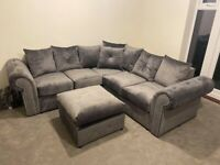 🎀🎀CLEARANCE STOCK MUST GO🎀🎀BRAND NEW ASHWIN VELVET 3+2 SEATER SOFA🎀🎀AVAILABLE NOW🎀🎀
