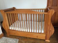 Cot Bed TUTTIBAMBINI LOUIS converts to single bed up to 6yrs