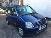 Suzuki Wagon R VVT lovely example of this small family car new mot and freshly serviced
