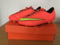 Nike Mucurial Football Boots Size 6, good condition x