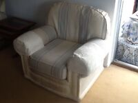 Armchair. Comfortable and no damage.