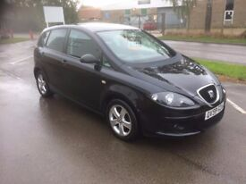 2008 [58] SEAT ALTEA 1.9TDI DIESEL 64,000 1 OWNER FROM NEW