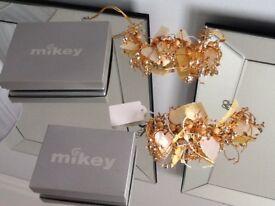 Brand new Mikey Choker Necklace and Bracelet